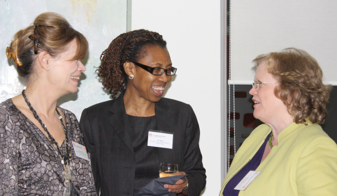 Photo from launch event of Business Analysis and Leadership